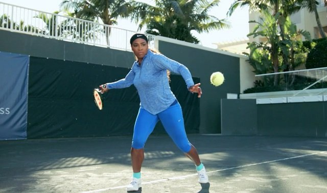 Serena Williams forehand
