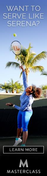 Serena Williams serve